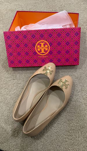 Tory Burch beige shoes 8.5 for Sale in Fort Washington, MD
