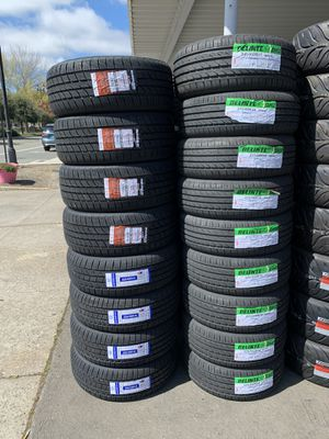 TIRES FOR SALE WITH GOOD MILEAGE LOWEST PRICES CALL OR TEXT FOR A QUOTE for Sale in Stockton, CA