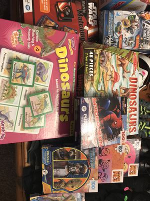 New! Puzzles and matching games for Sale in Round Rock, TX