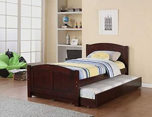 New Cherry Twin/twin Trundle bed for Sale in Austin, TX