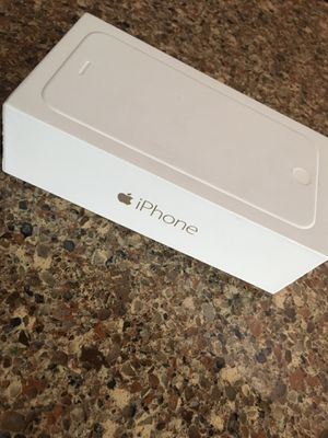 iPhone 6 gold 128gb box only for Sale in Lake Oswego, OR