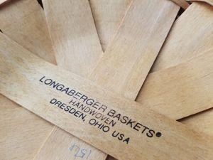 Longaberger basket/ please read description for Sale in Scottsdale, AZ