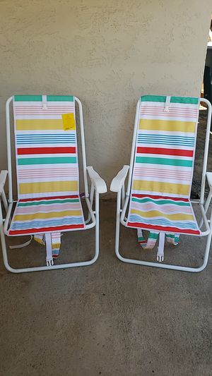 Chair-backpack beach chair for Sale in Fresno, CA