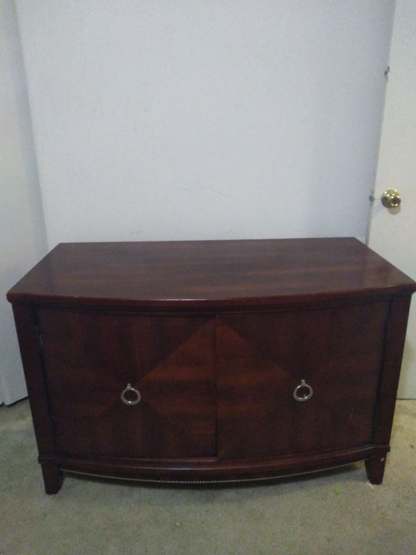 Large REAL WOOD tv stand