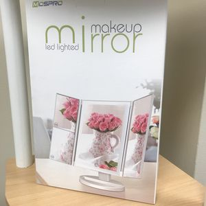 LED makeup mirror. Brand new. for Sale in Palatine, IL