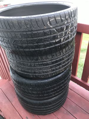 255-25-24 and 275-23-24 for Sale in Fayetteville, GA