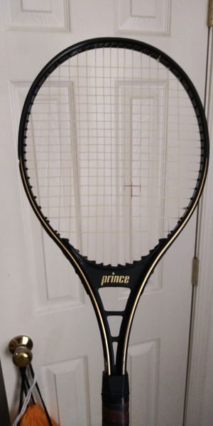 Prince tennis racket black for Sale in Herndon, VA