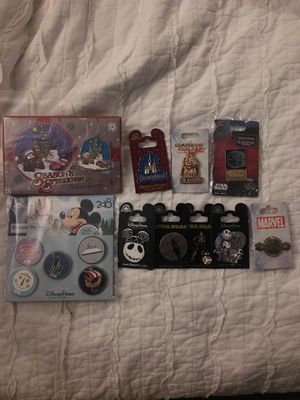 Disney pin lot for Sale in Rancho Cucamonga, CA