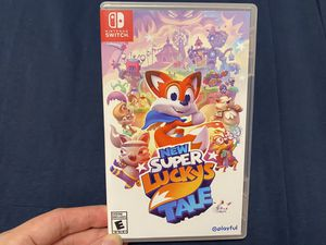 CIB New Super Lucky's Tale (Nintendo Switch, 2019) for Sale in Seattle, WA