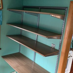 ELFA Shelf System From Container Store $100 ($260 Brand New) for Sale in Revere, MA