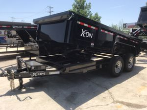 2019 Brand New 14x83 X-On Dump Trailer *IN HOUSE FINANCE* for Sale in Lewisville, TX