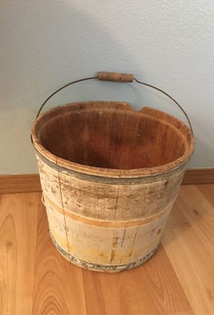 Antique bucket for Sale in Kent, WA