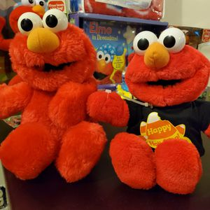 Set of Elmo Plush Toys. for Sale in Dublin, OH