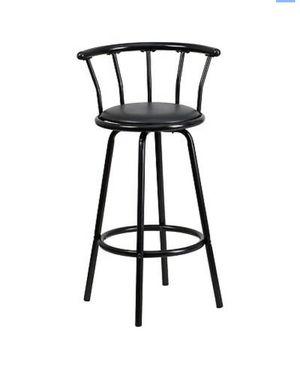 Bar Stool Swivel Seat (Black) for Sale in Glendale, CA