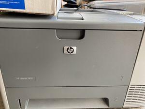 HP LaserJet 2420 Printer + new toner for Sale in Downers Grove, IL