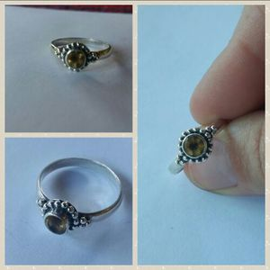 Citrine Ring for Sale in Leavenworth, WA