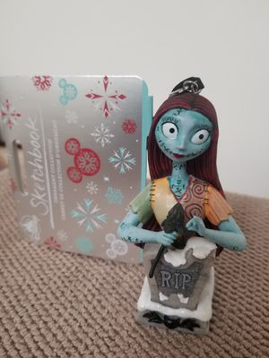 Disney The Nightmare Before Christmas Sally RIP Figurine Sketchbook Ornament NWT for Sale in Los Angeles, CA