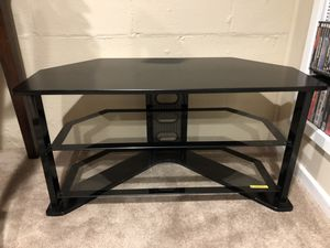 Glass TV stand for Sale in Minneapolis, MN