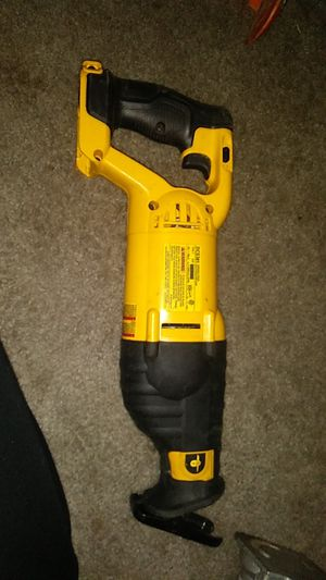 DEWALT 20v reciprocating saw for Sale in Bonney Lake, WA