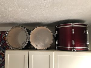 3/4 full drum set (Pearl, Ludwig, Sunlite, Standard) for Sale in Philadelphia, PA