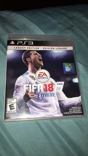 Fifa 18 ps3 legacy edition for Sale in Gresham, OR