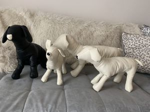 *NEW Dog Mannequins   Hand-made   Bendable   Pleather for Sale in Tampa, FL