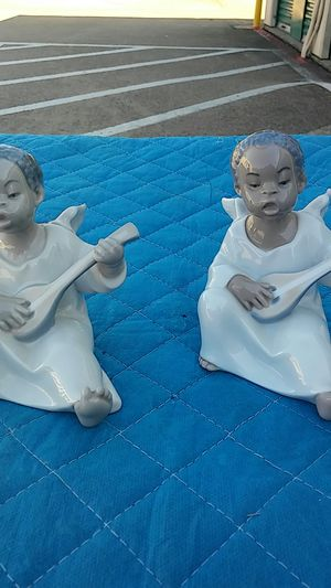 Lladro Porcelain Angels Figurine Black Legacy # 01004537 for Sale in Plano, TX