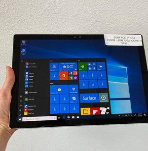Microsoft surface pro 4 for Sale in Tacoma, WA