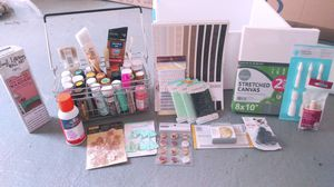 Assorted crafting and scrapbooking supplies for Sale in Lynchburg, VA