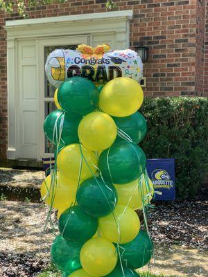 Graduation balloon column for Sale in Elgin, IL