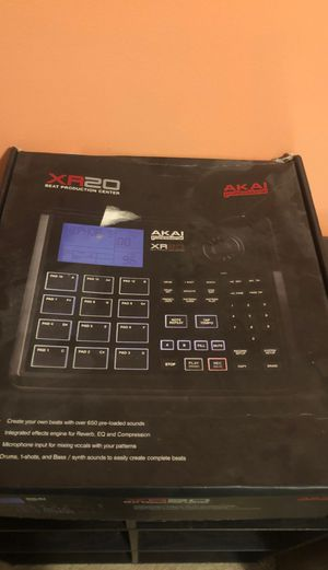 Akai xr20 beat production center for Sale in Nicholasville, KY