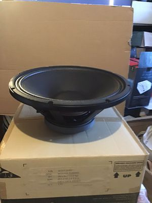 "Cerwin Vega18"" subwoofer P1800SX 2000 watts Powered subwoofer brand new in the box Genuine cerwin -Vega replacement part for Sale in Las Vegas, NV"