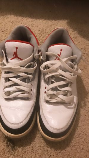 Jordan's, Fire Red 3's for Sale in Indianapolis, IN