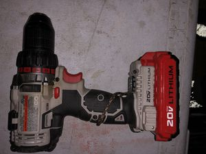 Porter Cable 20-volt lithium ion cordless drill for Sale in Spokane, WA