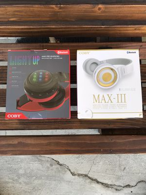COBY Bluetooth Wireless Headphones for Sale in Chula Vista, CA