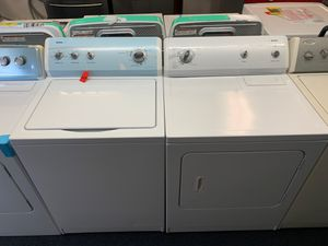 Kenmore washer and dryer set 1 year warranty for Sale in Saint Pete Beach, FL