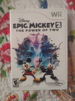 Epic mickey 2 for Sale in Stanton, CA