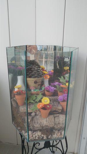 Flower aquarium for Sale in Tampa, FL