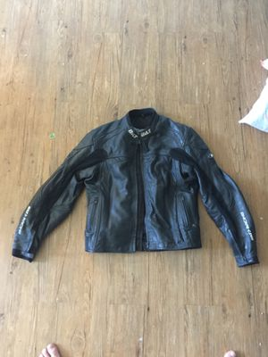 Leather motorcycle jacket $40 for Sale in Fresno, CA