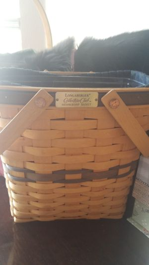 Longaberger collector club membership for Sale in Centennial, CO