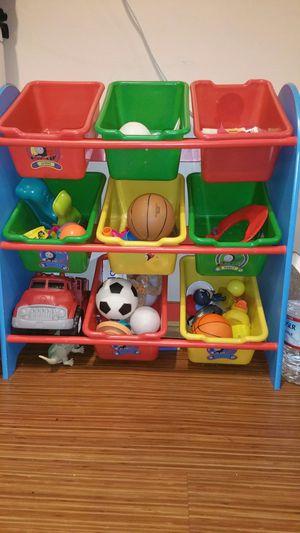 *FREE Thomas the Train toy organizer for Sale in Tacoma, WA