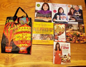 Brand New Bag & 7 Cookbook Set for Sale in Chicago, IL