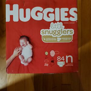 Huggies Little Snugglers Diapers for Sale in Weymouth, MA