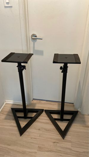 Proline Adjustable Studio Monitor Stand - Pair Black for Sale in Los Angeles, CA