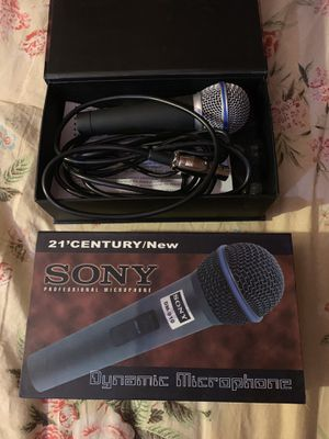 Professional microphone, two, excellent condition for Sale in Pasadena, CA
