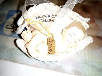 Baby's first Christmas ornament. for Sale in San Angelo,  TX
