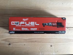 Milwaukee M12 FUEL 12-Volt Lithium-Ion Brushless Cordless 1/2 in. Ratchet (Tool-Only) for Sale in Queens, NY