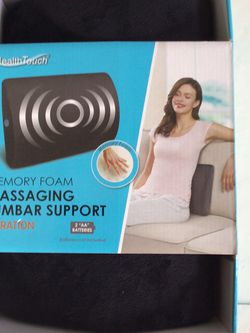 Brand New Memory Foam Massaging Back Lumbar Support for Sale in Nashville,  TN