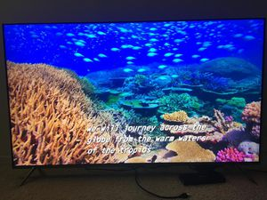 "Samsung HDR10 4k KS8000 Quantum dot 55"" TV for Sale in Chicago, IL"