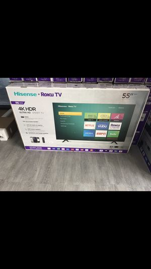 55 INCH HISENSE R6 4K ROKU SMART TV 📺 for Sale in Chino, CA